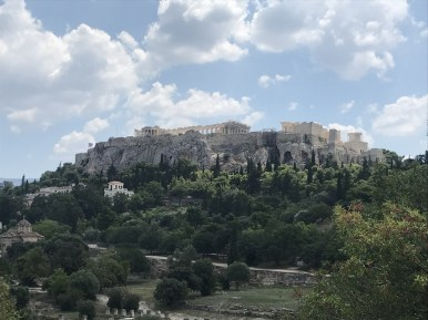 Acropolis with kids