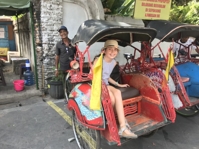 getting around Yogya