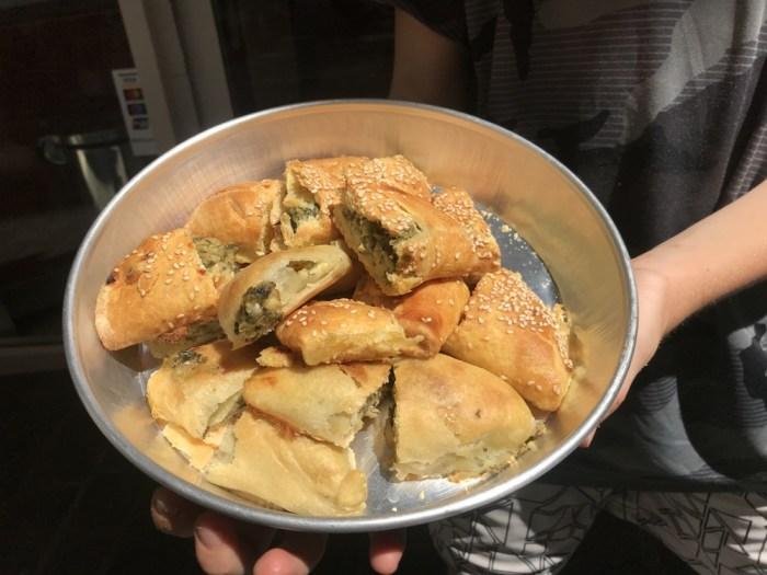 Greek pies in Athens
