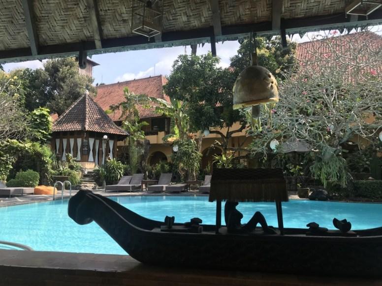 Jogya Village Inn pool