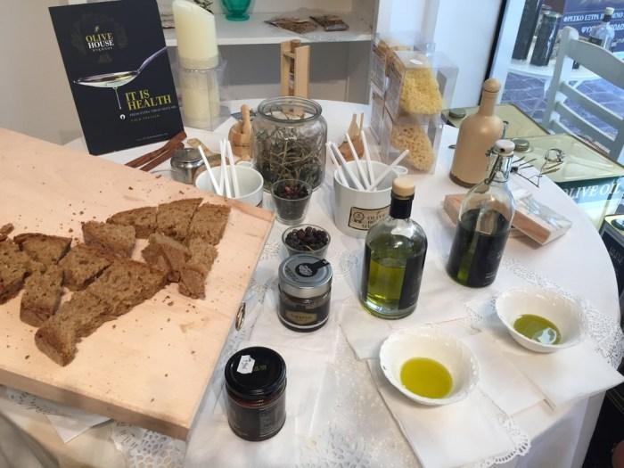 olive oil tasting Athens