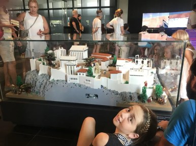 Acropolis Museum with kids