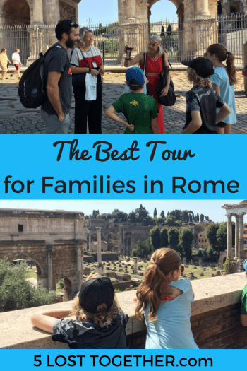 Best Tour for Families in Rome