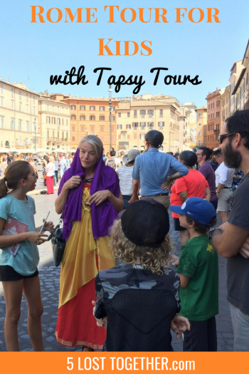 Rome tour with kids - Tapsy Tours