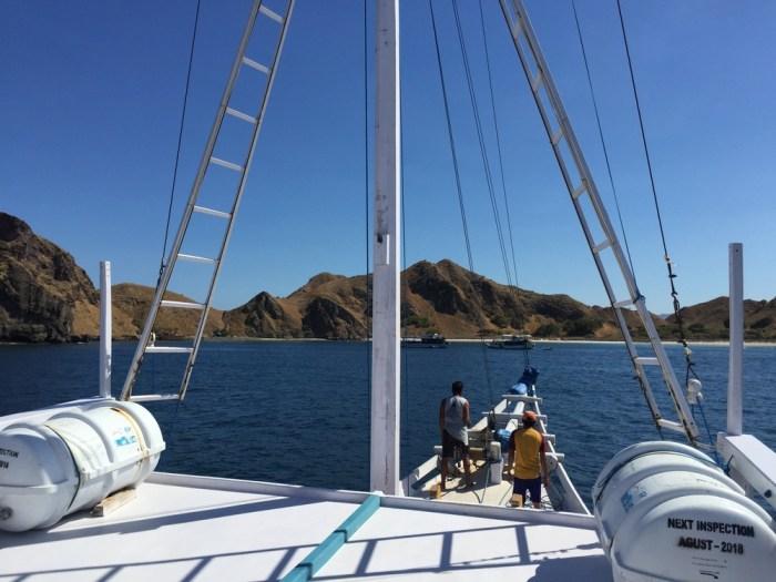 boat trip Komodo