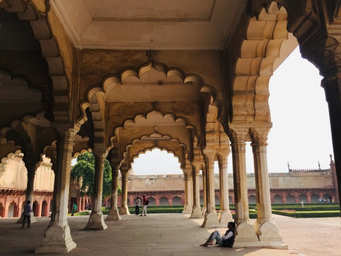 Red Fort Agra with kids