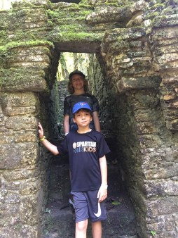 Palenque with kids