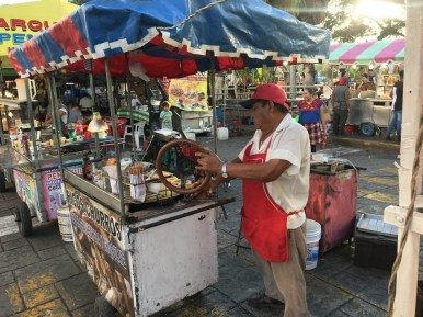 street food in Merida