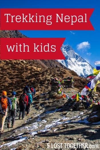 Trekking Nepal with Kids