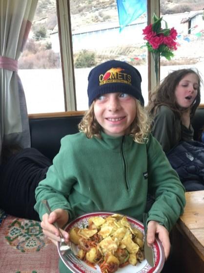 teahouse food for kids