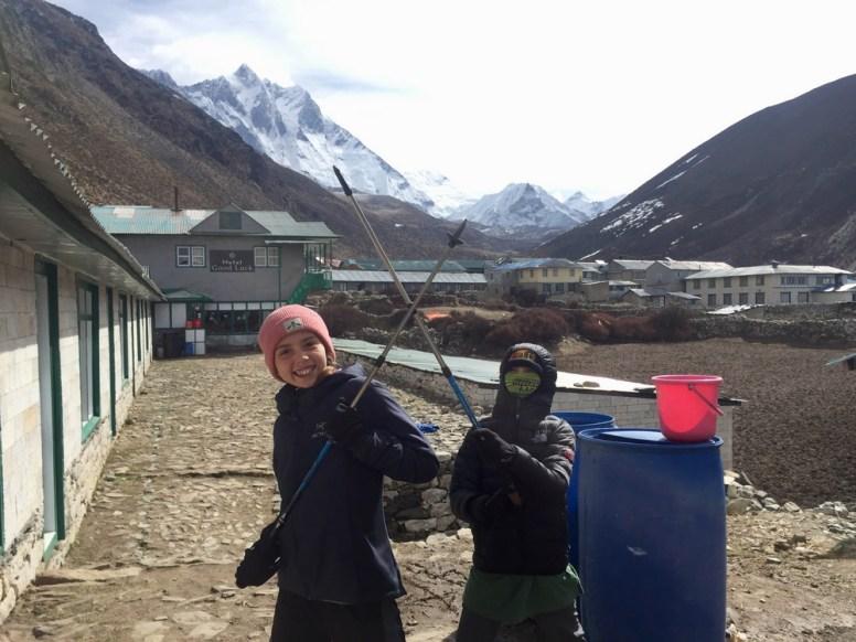 travel with kids Nepal
