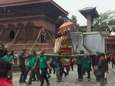 Durbar Square procession