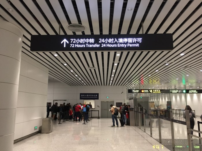 China 144 hour transit visa
