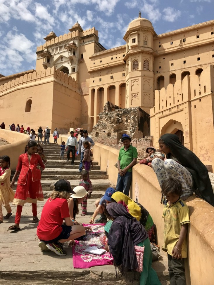 visiting Amber Fort