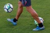 balón césped Entrenamiento Ciudad Deportiva Albacete 19-7-17-2