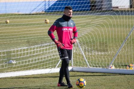 danny carvajal Entrenamiento Albacete-16