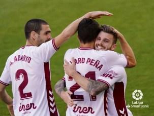 gol celebración equipo