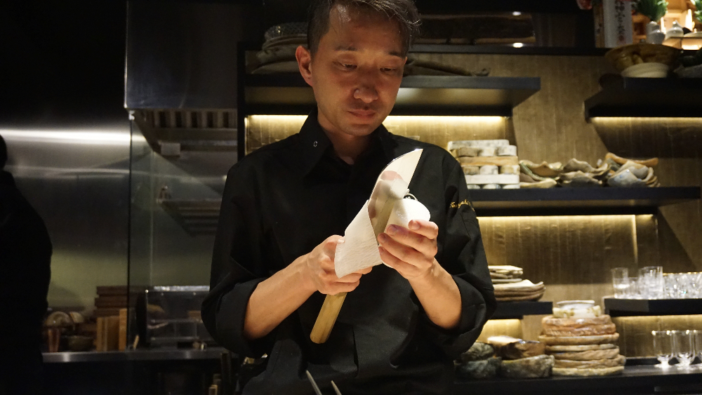 Chef Tomo Watanabe