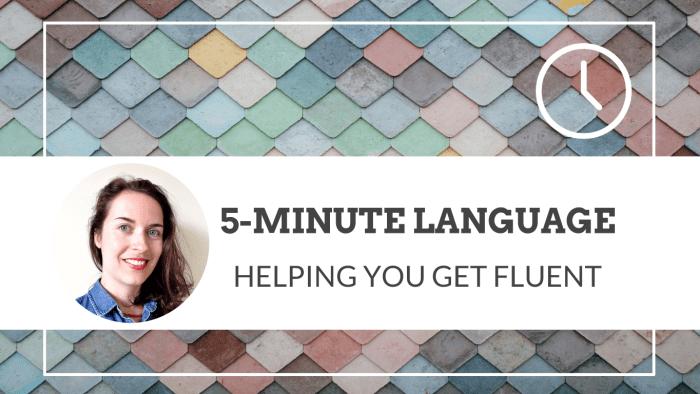 5-minute language