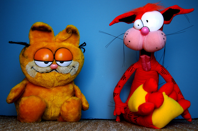 garfield - how to learn vocabulary effectively