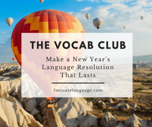 the vocab club