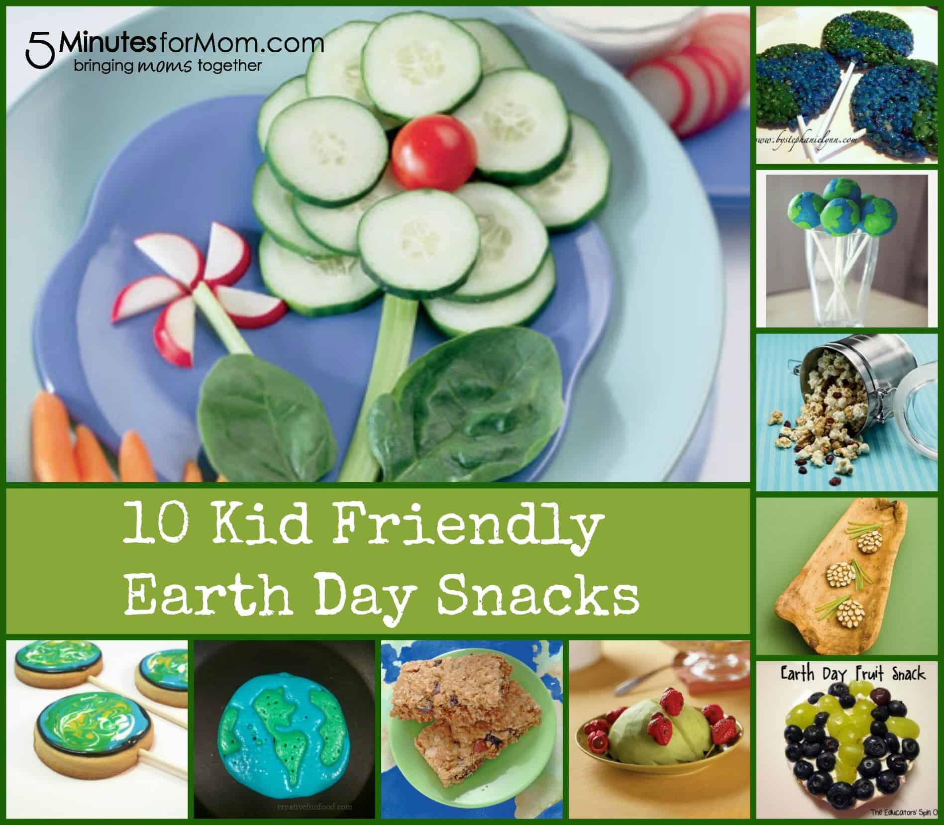 Kid Friendly Earth Day Snacks