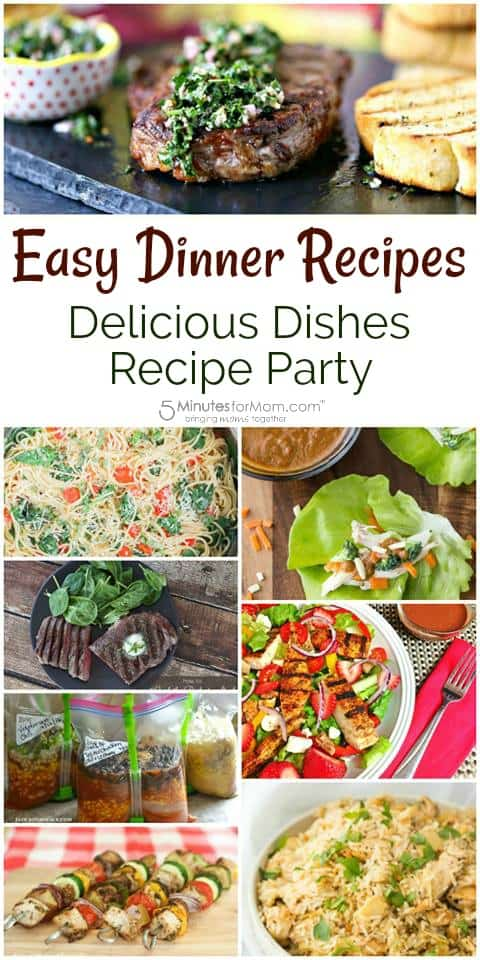 Simple And Delicious Dinner Recipes