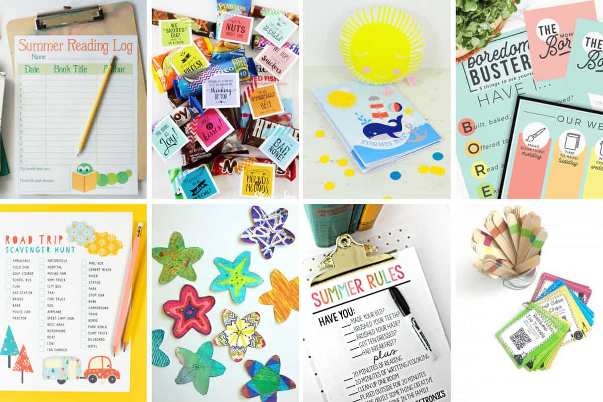 20 Free Summer Printables For Kids