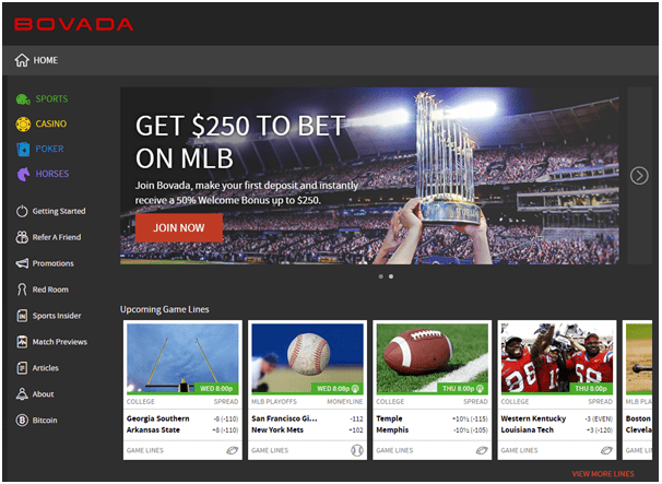 Bovada Casino-The perfect casino to play Poker, Race and