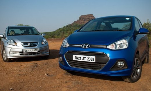 Hyundai Xcent vs. Honda Amaze