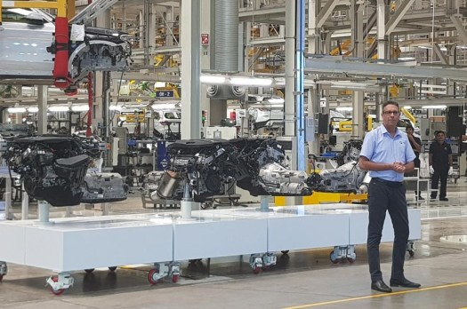 German carmaker to donate 365 engines and transmissions to be used for learning purposes.