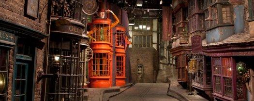 Harry Potter Sets At Warner Brothers Studio