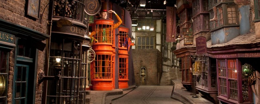 Harry Potter Sets At Warner Brothers Studio