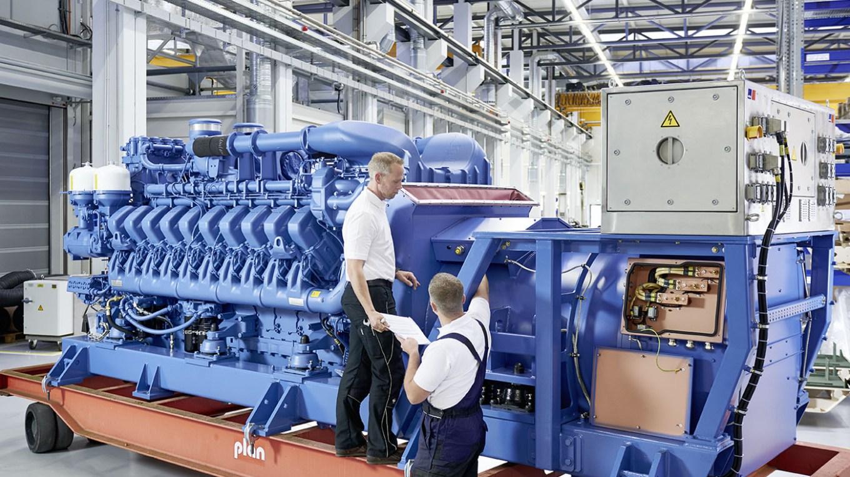 Dieselelectric Power Unit