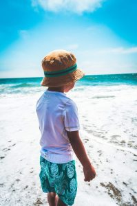 child on the beach #5SLL #5sensesLL #normalisoverrated #homeschool #homeschoolkindergarten  #homeschoolpreschool #homeschoofirstgrade #neurodiversehomeschooling #adhdhomeschooling