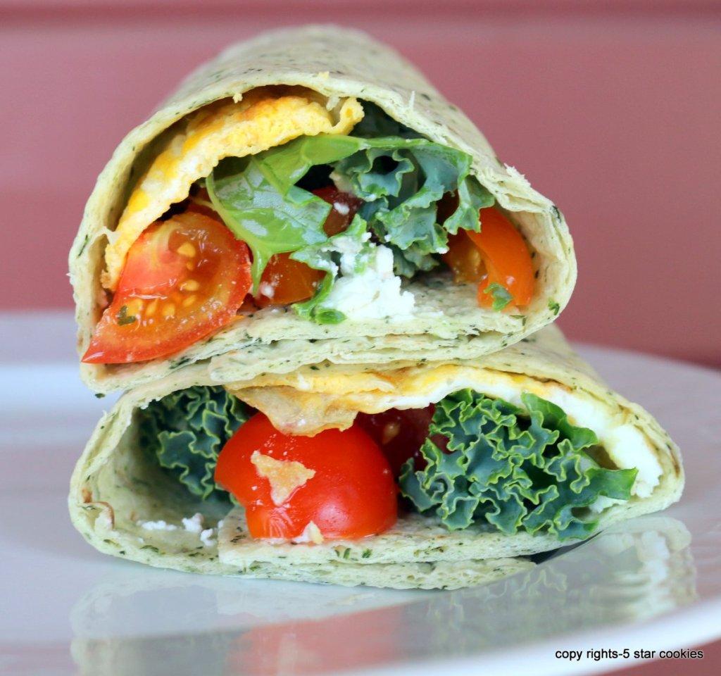 Veggie Homemade Wrap