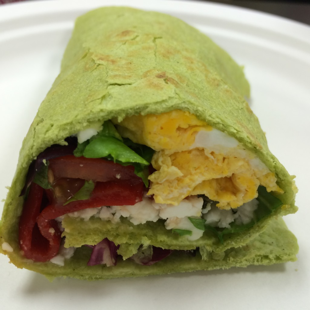 5 Star Green Wrap Front View