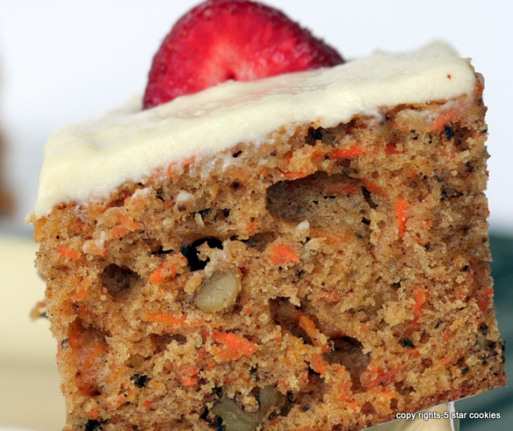 5 star cookies - The Best Carrot Cake