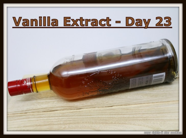 homemade vanilla extract day 23 from the best food blog 5starcookies