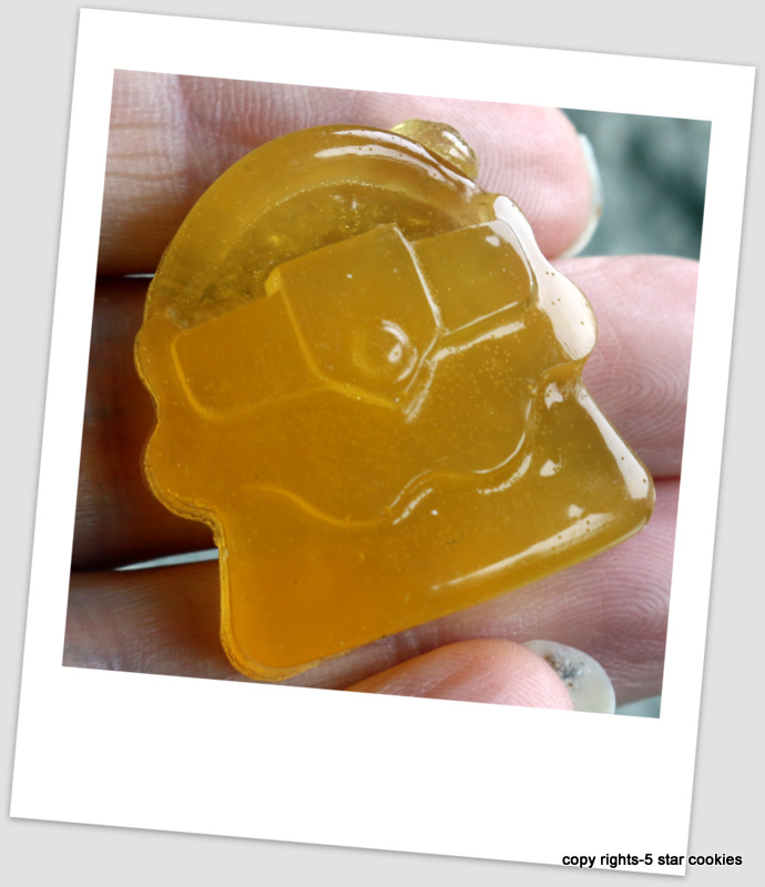 Organic Lemon Gummy Shapes from the best food blog 5starcookies-Your Lemon Purse
