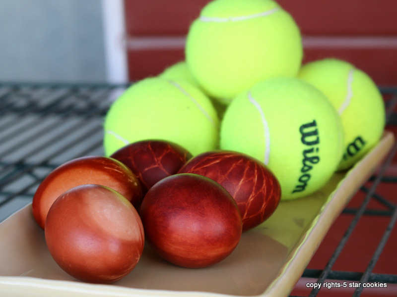 eggs and tennis from your favorite food blog 5starcookies and cookie