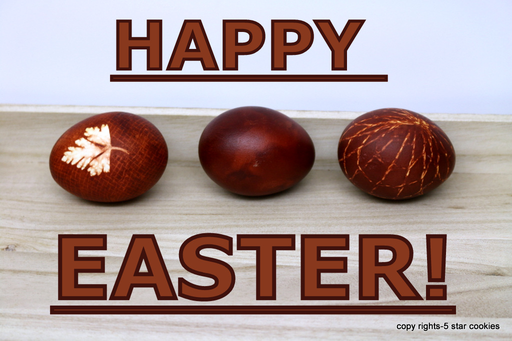 happy Easter 2017 from the best food blog 5starcookies-Happy Sunday