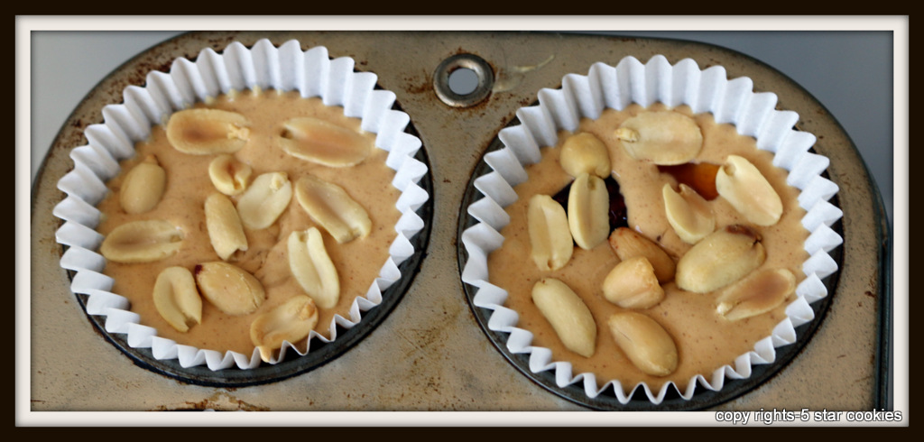 the best peanut butter and jelly cups and food blog 5starcookies-cover with peanuts