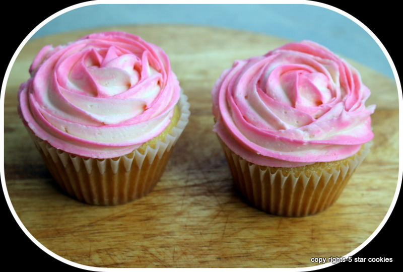 vanilla cupcake and frosting from the best best blog 5starcookies