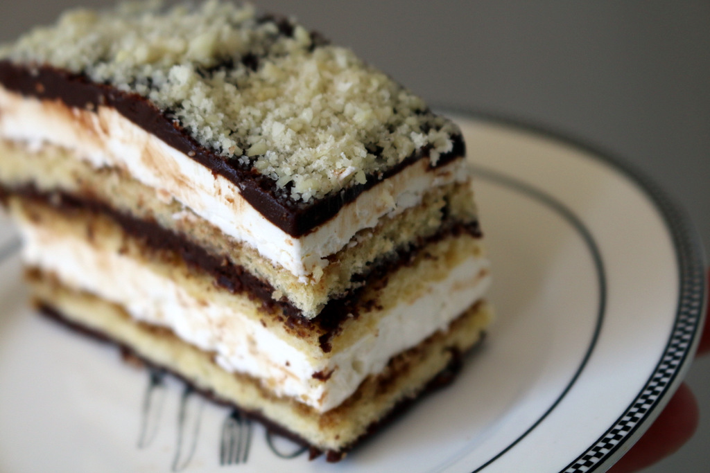 opera cake from 5starcookies and cookies