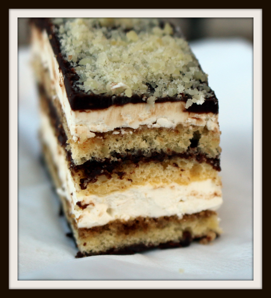 Opera Cake from the best food blog 5starcookies and Cookies - Frame your moment