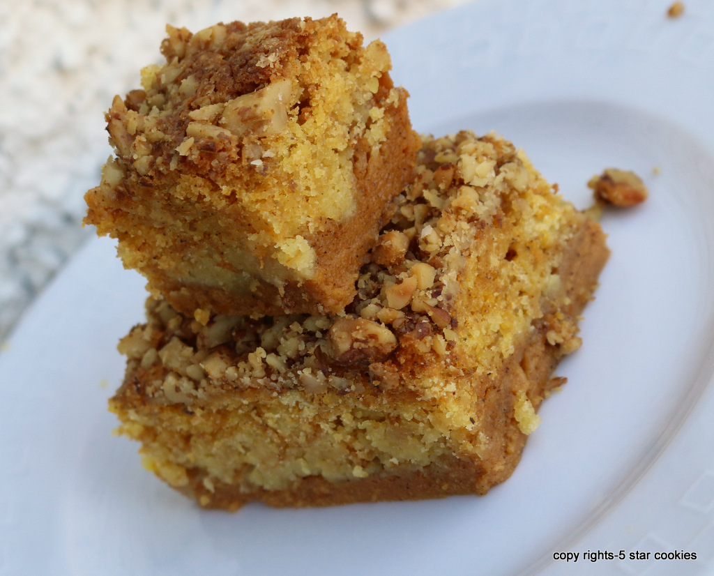 Pumpkin cake from the best food blog 5starcookies and Cookies