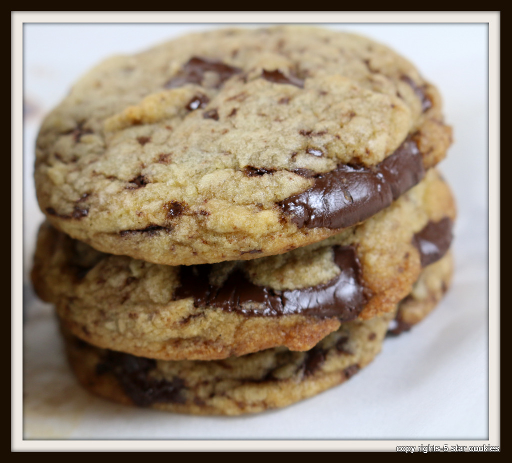 5star chocolate chip cookies and 5starcookies