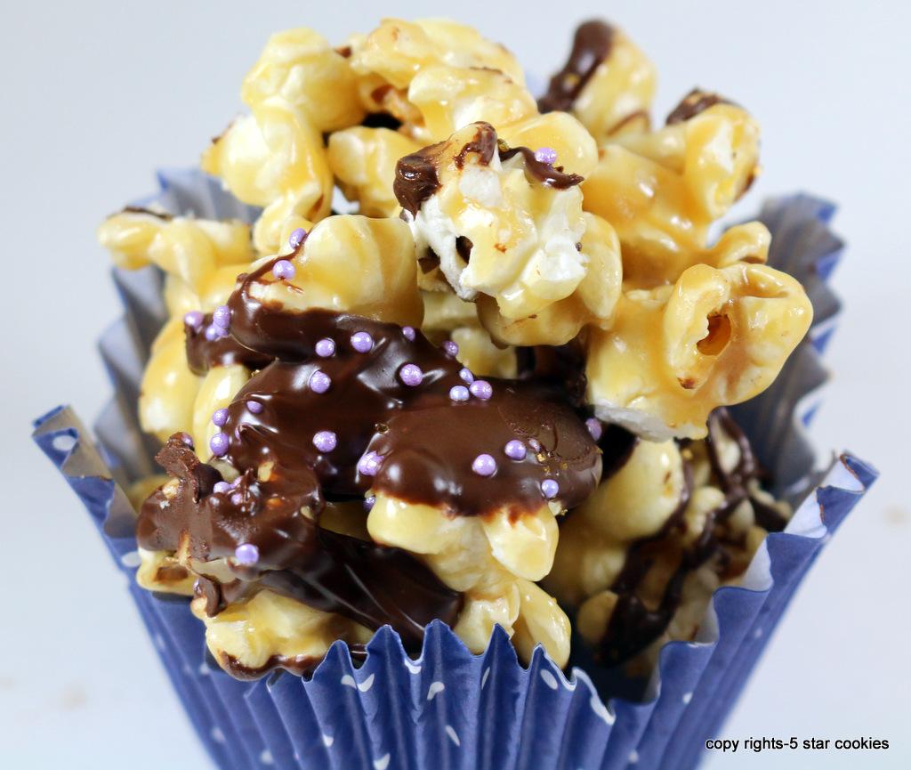 Chocolate Skor Popcorn from 5starcookies