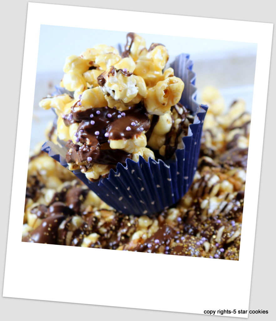 Chocolate Skor Popcorn from 5starcookies-Enjoy chocolate skor popcorn